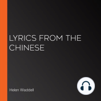 Lyrics from the Chinese