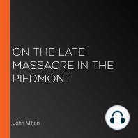 On the Late Massacre in the Piedmont