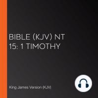 Bible (KJV) NT 15