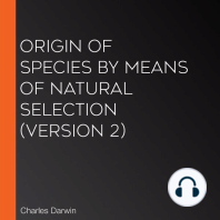 Origin Of Species by Means of Natural Selection (version 2)
