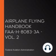 Airplane Flying Handbook FAA-H-8083-3A - Vol. 2