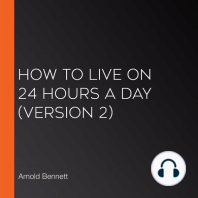 How to Live on 24 Hours a Day (version 2)