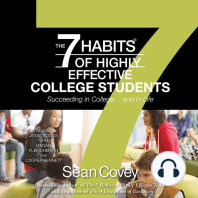 The 7 Habits of Highly Effective College Students