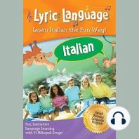 Lyric Language Italian