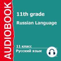 11 класс. Русский язык.