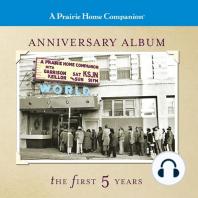 A Prairie Home Companion, Anniversary Album