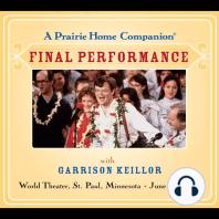Prairie Home Companion, A: The Final Performance