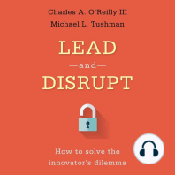Lead and Disrupt