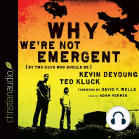 Why We're Not Emergent