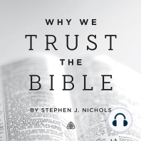 Why We Trust the Bible Teaching Series