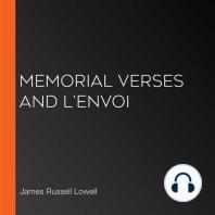 Memorial Verses and L'Envoi