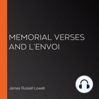 Memorial Verses and L'Envoi