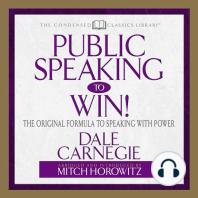 Public Speaking to Win!