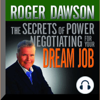 The Secrets of Power Negotiating for Your Dream Job