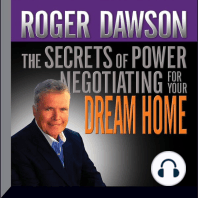 The Secrets of Power Negotiating for Your Dream Home