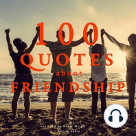 100 Quotes About Friendship