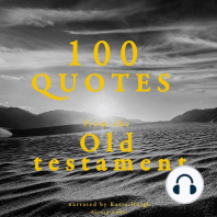 100 Quotes from the Old Testament