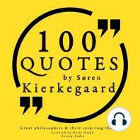 100 Quotes by Søren Kierkegaard