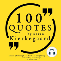 100 Quotes by Søren Kierkegaard