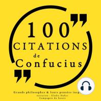 100 citations de Confucius