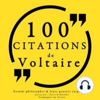 100 citations de Voltaire