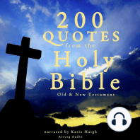 200 Quotes from the Holy Bible