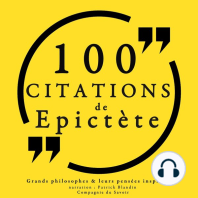 100 citations d'Epictète