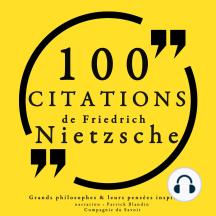 100 citations de Friedrich Nietzsche: Comprendre la philosophie