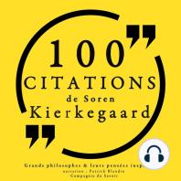 100 citations de Kierkegaard