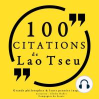 100 citations de Lao Tseu