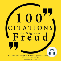 100 citations de Sigmund Freud