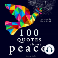 100 Quotes About Peace