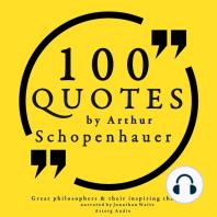 100 Quotes by Arthur Schopenhauer