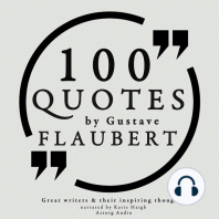 100 Quotes by Gustave Flaubert