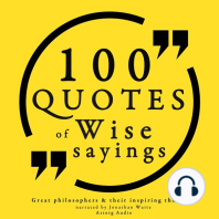 100 Wise Sayings