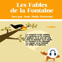 7 fables de La Fontaine