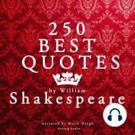 Best Quotes by William Shakespeare