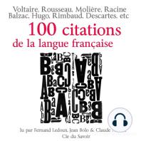 Cent citations de la langue française