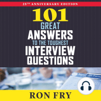 101 Great Answers to the Toughest Interview Questions: 25th Anniversary