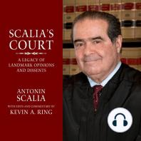 Scalia's Court