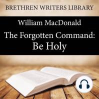 Forgotten Command, The