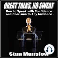 Great Talks, No Sweat