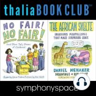 Thalia Book Club: Chast! Menaker! Trillin!