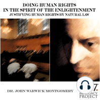 Doing Human Rights in the Spirit of the Enlightenment; Justifying Human Rights by Natural Law