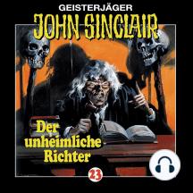 John Sinclair, Folge 23: Der unheimliche Richter