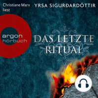 Das letzte Ritual - Island-Krimi (Ungekürzte Fassung)