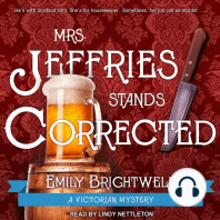 Mrs. Jeffries Stands Corrected