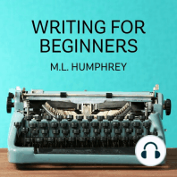 The Beginning Writer's Guide to What You Should Know