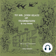 To Mr. John Keats of Teignmouth