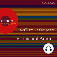 Venus und Adonis (Ungekürzte Lesung)